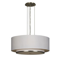 AFX Lighting Dayton 6 Light Pendant in Satin Nickel DYP618SNMV