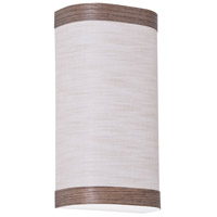 AFX EDS061114LAJUDCV-JT Eden 1 Light 6 inch Chocolate ADA Wall Sconce Wall Light