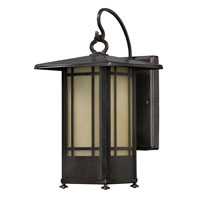 AFX Lighting Eureka Sconce in Moss Brown EUW118MBSCT