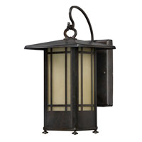 AFX Lighting Eureka Sconce in Moss Brown EUW126MBSCT
