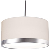 Evanston LED 25 inch Satin Nickel Pendant Ceiling Light