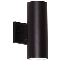 Everly 1 Light 12 inch Black Outdoor Sconce
