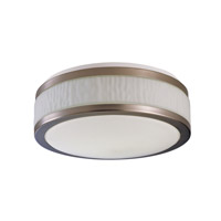 AFX Fusion 2 Light Flush Mount in Satin Nickel FUF13213QMVSN