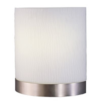 Fusion 2 Light 10 inch Satin Nickel Sconce Wall Light in 13