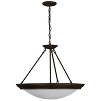 AFX Lighting Duomo 3 Light Pendant in Oil-rubbed Bronze H7313RBSCT