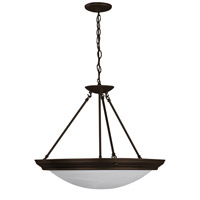 AFX Lighting Duomo 4 Light Pendant in Oil-rubbed Bronze H8413RBSCT