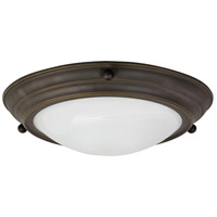 AFX Lighting HF Series 2 Light Flush Mount in Oil-rubbed Bronze HF6213RBSCT