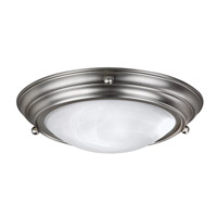 AFX Lighting HF Series 3 Light Flush Mount in Brushed Nickel HF7313BNSCT
