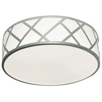 AFX HVNF17LAJUDSN Haven LED 17 inch Satin Nickel Flushmount Ceiling Light