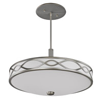 AFX Lighting Hudson 4 Light Pendant in Satin Nickel HZP413SNMV
