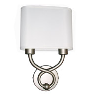 AFX Hudson 2 Light Wall Sconce in Satin Nickel HZS1016218QENSNFSS