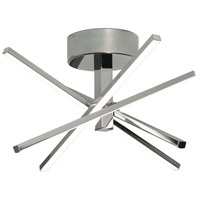 AFX JAXF1515L30D1PC Jaxx LED 15 inch Polished Chrome Flushmount Ceiling Light
