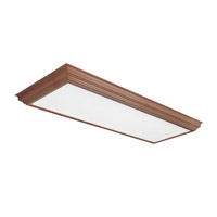 AFX Lighting Crown Molding 4 Light Decorative Flush Mount in oak KCM432R8