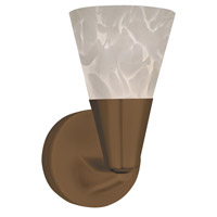 AFX Laveer 1 Light Wall Sconce in Rubbed Bronze LASL45040WHRB