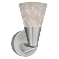 AFX Laveer 1 Light Wall Sconce in Satin Nickel LASL45040WHSN