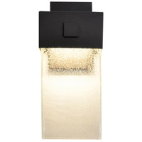 AFX LGW6141800L30MVBZ Logan 1 Light 14 inch Textured Bronze Outdoor Wall Sconce