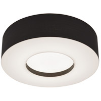 AFX MCF1214LAJUD-BK Montclair 1 Light 12 inch Black Flush Mount Ceiling Light