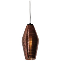 Mila 1 Light 6 inch Black Pendant Ceiling Light