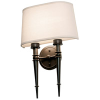 AFX MNS131810LAJD1RB Montrose 1 Light 13 inch Oil-Rubbed Bronze Wall Sconce Wall Light