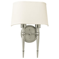 Montrose 2 Light 4 inch Satin Nickel Sconce Wall Light