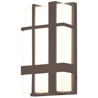 AFX MXW7122500L30MVBZ Max LED 12 inch Textured Bronze Outdoor Sconce