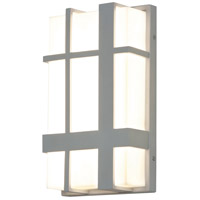 AFX MXW7122500L30MVTG Max LED 12 inch Textured Grey Outdoor Sconce
