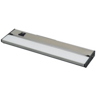 AFX Lighting Noble Pro NLLP LED 9-in Undercabinet in Brushed Aluminum with White Polycarbonate Diffuser NLLP9BA