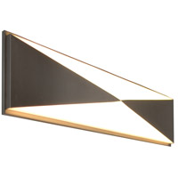 AFX NVV5252400L30D1SN Novara LED 25 inch Satin Nickel Vanity Light Wall Light