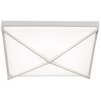 AFX PEAF1215LAJUDWH Pearson LED 3 inch White Flush Mount Ceiling Light
