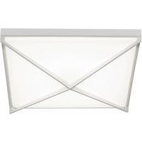 AFX PEAF1624LAJUDWH Pearson LED 3 inch White Flush Mount Ceiling Light