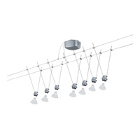 Paulmann by AFX Deco System 7 Light Wire System Kit  in Satin PM-94002