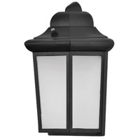 AFX PSW0812700L50BK Patriot LED 12 inch Black Outdoor Wall Light Aspect