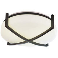 Restoration LED 15 inch Oil-Rubbed Bronze Flush Mount Ceiling Light in 25