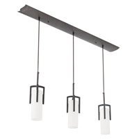 AFX Lighting Restoration 3 Light Linear Pendant in Oil-rubbed Bronze REPB313RBEC