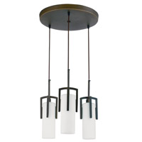 AFX Lighting Restoration 3 Light Circular Pendant in Oil-rubbed Bronze REPC313RBEC