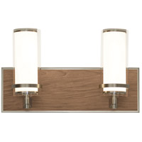 Arden 1 Light 16 inch Satin Nickel Vanity Light Wall Light