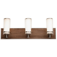 Arden 1 Light 24 inch Satin Nickel Vanity Light Wall Light