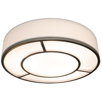 AFX RVEF1624LAJUDSNLW Reeves LED 16 inch Satin Nickel Flush Mount Ceiling Light