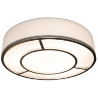 AFX RVEF2032LAJUDSNLW Reeves LED 20 inch Satin Nickel Flush Mount Ceiling Light