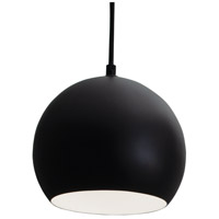 Roxy 1 Light 6 inch Black Pendant Ceiling Light