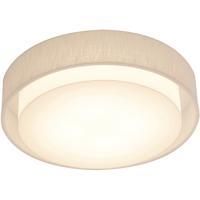 AFX SAF1614LAJUD-LW Sanibel 1 Light 16 inch White Flush Mount Ceiling Light
