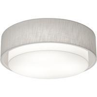 AFX SAF1824LAJUD-LW Sanibel 1 Light 18 inch White Flush Mount Ceiling Light