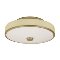 Sheridan 2 Light 22 inch Champagne Semi-Flush Ceiling Light
