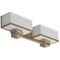 AFX Lighting Sheridan 2 Light Vanity in Champagne SHV218ACSCT-LA