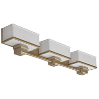 AFX Lighting Sheridan 3 Light Vanity in Champagne SHV318ACSCT-LA