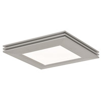 Sloane 1 Light 15 inch Satin Nickel Flush Mount Ceiling Light