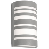 AFX STCW071228LAJD2TG Stack LED 12 inch Textured Grey Outdoor Sconce