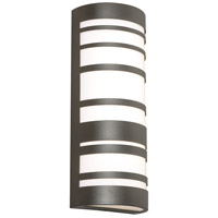 AFX STCW071833LAJD2BZ Stack LED 18 inch Textured Bronze Outdoor Sconce