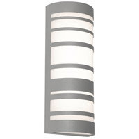 Stack LED 18 inch Textured Grey Outdoor Sconce