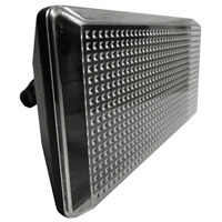 AFX Lighting TPDW Series 1 Light Outdoor LED Flood light in Black with Clear Lexan Lens TPDW110050LBK photo thumbnail
